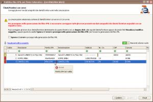 Pubblica files XML - Errori